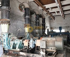 HSR series rubber lined desulfurization pump used in coking flue gas desulfurization