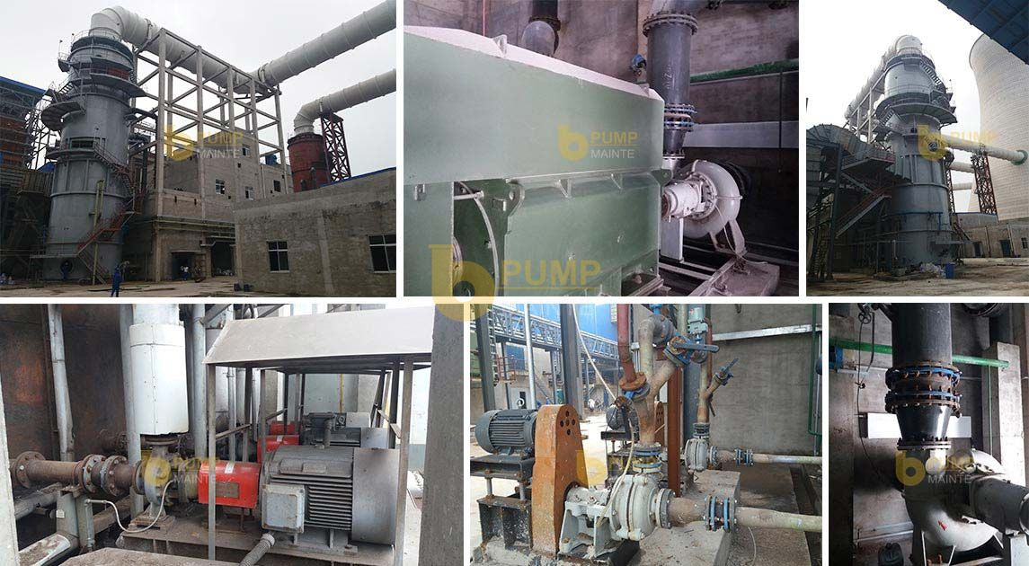 TL series all metal desulfurization pump used for flue gas desulfurization in thermal power plant