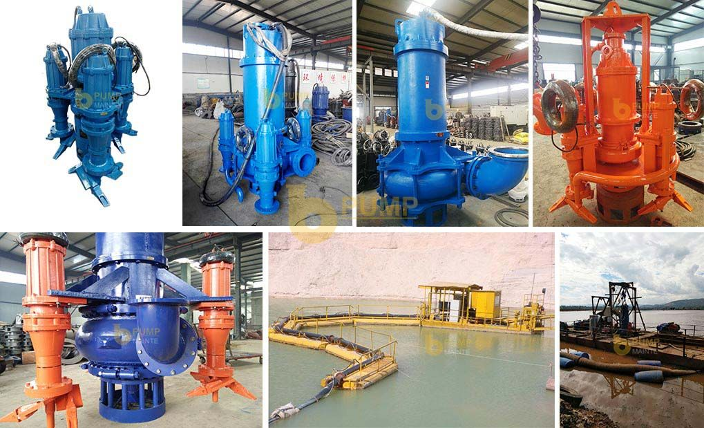 ZJQ submersible slurry pump use case